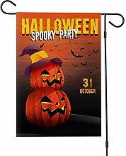ASR Halloween Ammer fantôme Drapeau de jardin