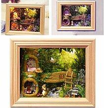 Assembler en bois modèle de cadre photo bricolage