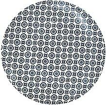 Assiette Cottage Porcelaine 25cm Bleu Art de la