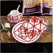 Assiette de diner Casse à café OS Chine Plaques