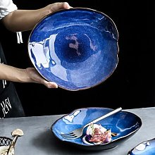 Assiette en céramique série vaisselle, plats