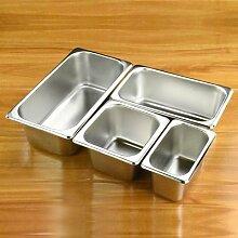 Assiettes de bassin de buffet de nourriture, pots