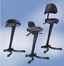 Assis-debout - assise large ergonomique hauteur