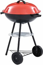 Asupermall - Barbecue portable XXL au charbon avec