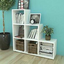 Asupermall - Bibliotheque/etagere 107 cm Blanc
