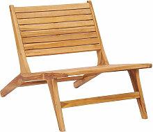 Asupermall - Chaise de jardin Bois de teck solide
