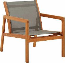 Asupermall - Chaise de jardin Gris Bois