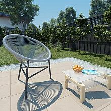 Asupermall - Chaise de jardin sous forme de lune
