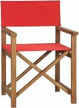 Asupermall - Chaise de metteur en scene Bois de