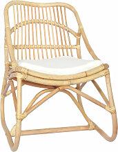 Asupermall - Chaise en rotin Lin