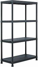 Asupermall - etagere de rangement Noir 200 kg