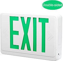 Asupermall - Led Emergency Exit Sign Lumiere Avec