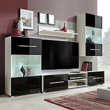 Asupermall - Meuble TV mural 5 pieces avec