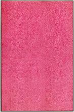 Asupermall - Paillasson lavable Rose 120x180 cm