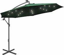 Asupermall - Parasol avec eclairage LED 300 cm
