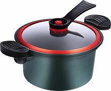 Asupermall - Pot A Soupe 3.5L Marmite De 8 Pouces