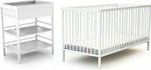 At4 - duo naissance lit bébé 70x140 et table à