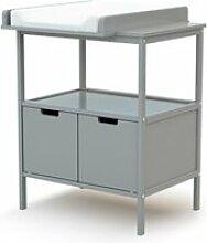 At4 - meuble à langer essentiel - gris 3315G7G0
