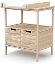 At4 - meuble à langer essentiel - hêtre brut