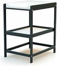 At4 - table à langer confort - gris graphite