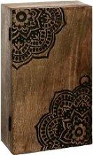 Atmosphera - boite à clés en bois de manguier