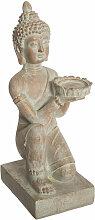 Atmosphera - Objet décoratif Bouddha en magnésie