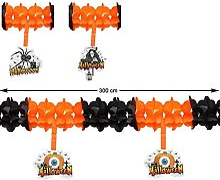 Atosa 41310 Guirlande pour Halloween 300 cm