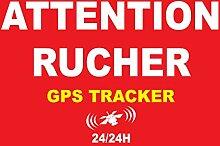 Attention rucher sous Surveillance GPS