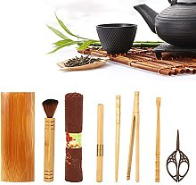 Atyhao Ménage Bambou Naturel Couteau, À Thé