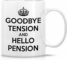 Au revoir Tension et Bonjour Pension Tasses