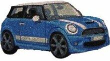 Aubry gaspard - paillasson mini bleue