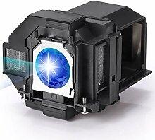 AuKing Lampe de Vidéoprojecteur pour Epson