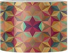 Aulaygo Abat-jour à motif géométrique pour