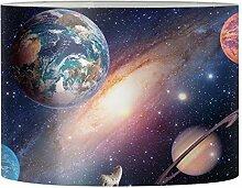 Aulaygo Abat-jour rond pour lampe de table Galaxy