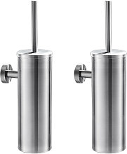 Auralum - 2pcs Porte Brosse de Toilette WC en