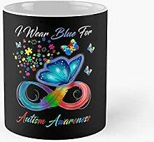 Autism Awareness I Wear Blue For Classic Mug Best