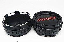 Auto Cache Moyeux, pour RAYS 66mm Auto Roue Jante