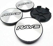 Auto Cache Moyeux, pour RAYS 68mm Auto Roue Jante