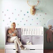 Autocollant mural étoiles pour chambre