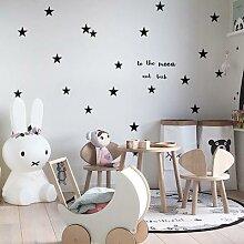Autocollant mural étoiles pour chambre de bébé,
