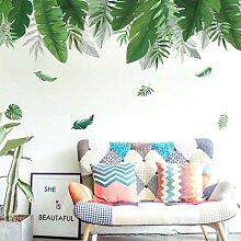 Autocollants muraux en vinyle avec feuilles de