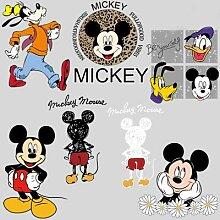Autocollants transfert de chaleur Disney Mickey