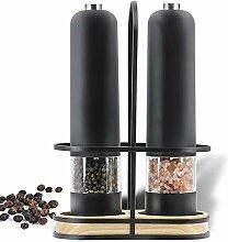 Automatique sel Moulin à poivre électrique Set