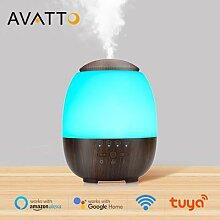 AVATTO – humidificateur WiFi avec lampe LED,