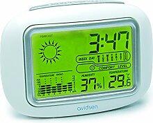 AVIDSEN 107226 Station météo avec horloge et