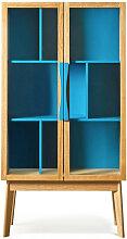 Avon - Bibliothèque vitrine 6 niches