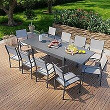 Avril Paris Table de Jardin Extensible en