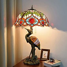 AWCVB Lampe De Table Tiffany 18Inch Tiffany Style