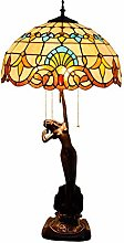 AWCVB Tiffany Taché Table Taché Lampe Baroque