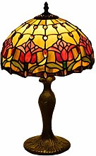 AWCVB Tiffany Tafty Table Lampe Antique Jardin